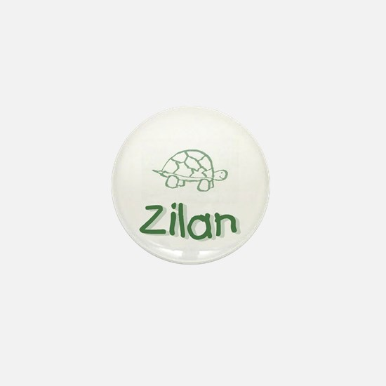 Green Turtle Zilan Mini Button