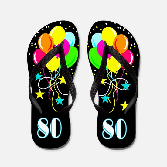 MARVELOUS 80TH Flip Flops