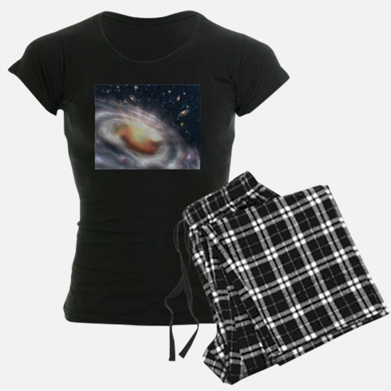 Bursting Black Hole Pajamas