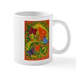 Woman in Vines - Butterflies Mugs