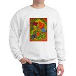 Woman in Vines - Butterflies Sweater