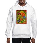 Woman in Vines - Butterflies Hoodie Sweatshirt
