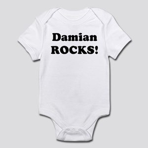 Damian Rocks! Infant Bodysuit