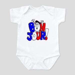 Bonjour! Flag Infant Bodysuit