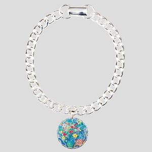 marc chagall still life Charm Bracelet, One Charm