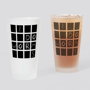 worms Drinking Glass