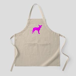 Pink Dingo Silhouette Apron