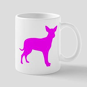 Pink Dingo Silhouette Mugs