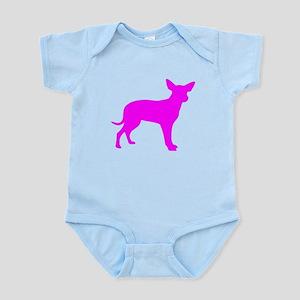 Pink Dingo Silhouette Body Suit