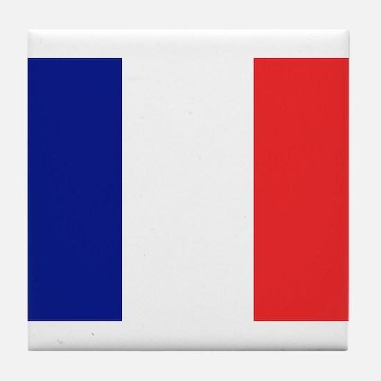 Flag of France Tile Coaster