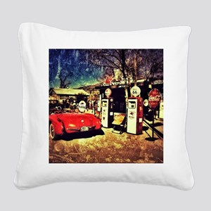 66 Square Canvas Pillow