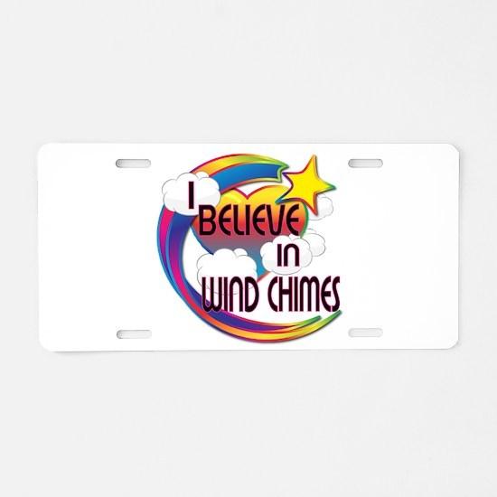 I Believe In Wind Chimes Cute Believer Design Alum