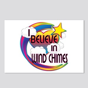 I Believe In Wind Chimes Cute Believer Design Post