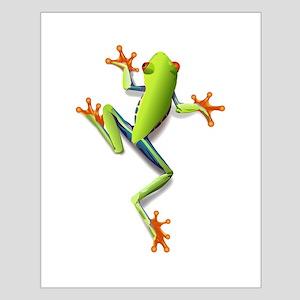 Poison Dart Frog Poster Design