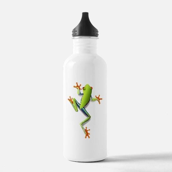 Poison Dart Frog Sports Water Bottle