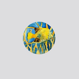 tropical-fish-painting-large Mini Button