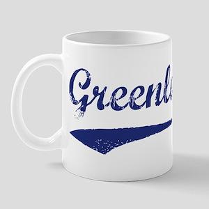 Blue Vintage: Greenland Mug