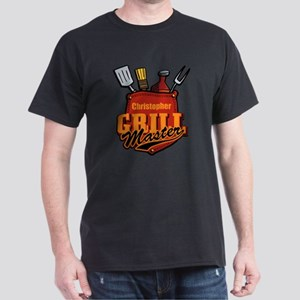 Pocket Grill Master Personalized Dark T-Shirt