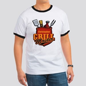 Pocket Grill Master Personalized Ringer T