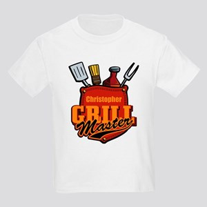 Pocket Grill Master Personalized Kids Light T-Shir