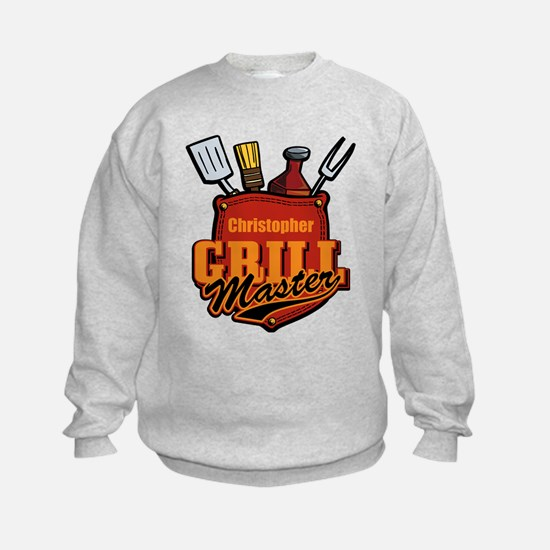 Pocket Grill Master Personalized Sweatshirt