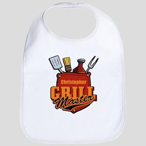 Pocket Grill Master Personalized Bib