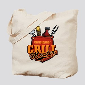 Pocket Grill Master Personalized Tote Bag