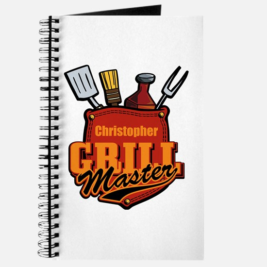 Pocket Grill Master Personalized Journal