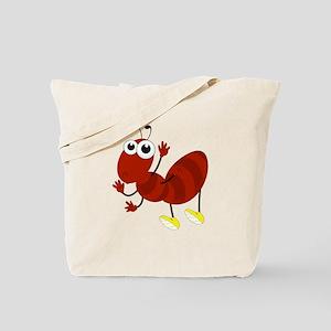 Cartoon Fire Ant Tote Bag