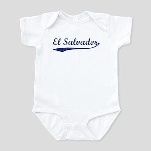 Blue Vintage: El Salvador Infant Bodysuit