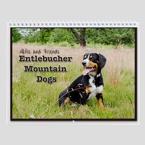 Entlebucher Mountain Dog Wall Calendar