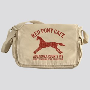 Longmire Red Pony Messenger Bag
