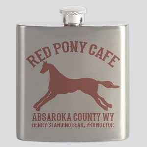 Longmire Red Pony Flask