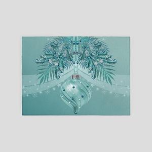 Christmas Magic 2 5'x7'Area Rug