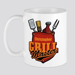 Pocket Grill Master Personalized Mugs
