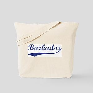 Blue Vintage: Barbados Tote Bag