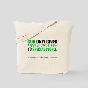 God Only Gives (Mito Awareness) Tote Bag