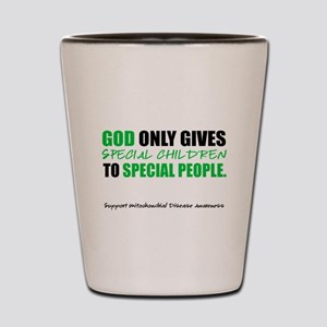 God Only Gives (Mito Awareness) Shot Glass