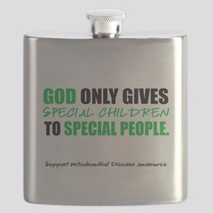 God Only Gives (Mito Awareness) Flask