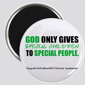 God Only Gives (Mito Awareness) Magnet