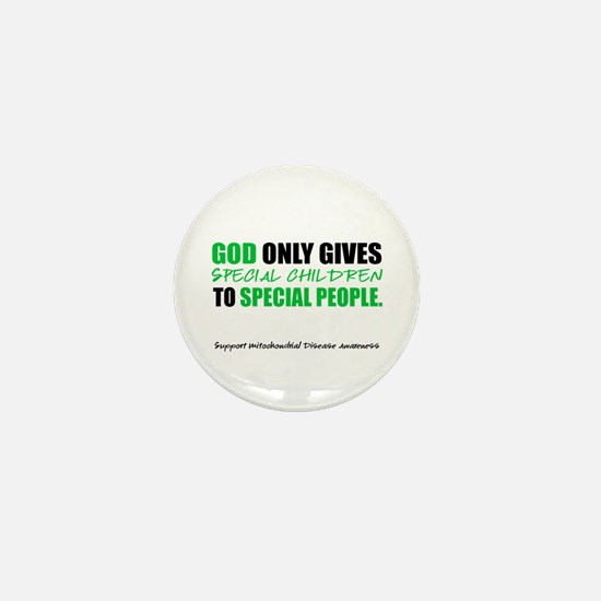God Only Gives (Mito Awareness) Mini Button