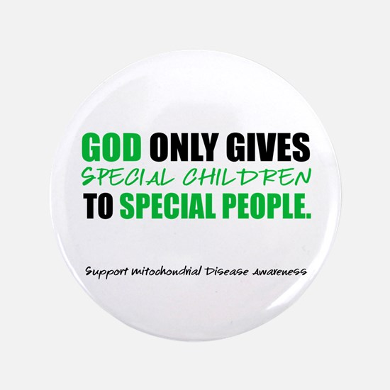 """God Only Gives (Mito Awareness) 3.5"""" Button"""