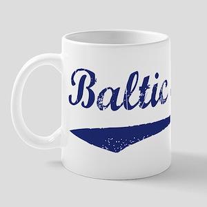 Blue Vintage: Baltic States Mug