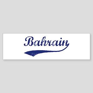 Blue Vintage: Bahrain Bumper Sticker