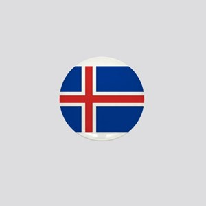 Flag of Iceland Mini Button