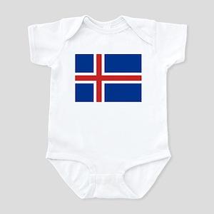 Flag of Iceland Infant Bodysuit