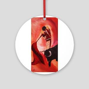 bullfighter Ornament (Round)