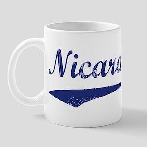 Blue Vintage: Nicaragua Mug