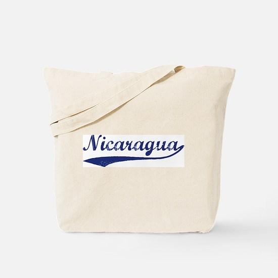 Blue Vintage: Nicaragua Tote Bag
