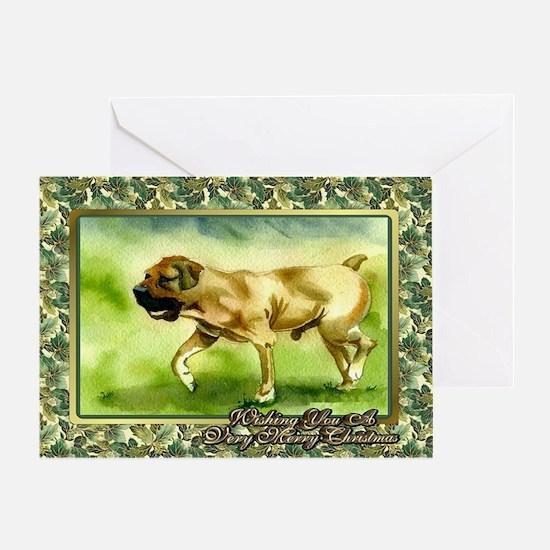 Boerboel Dog Christmas Greeting Cards